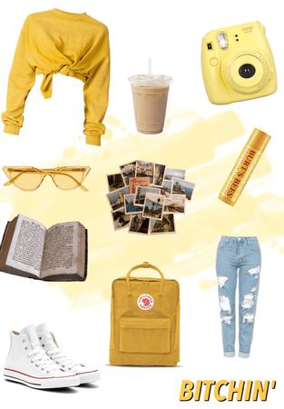 yellow splash