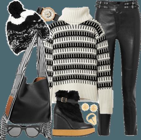 Black & White Edgy