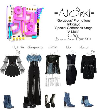 -NOVA- 'A Little' Comeback Special Inkigayo Stage