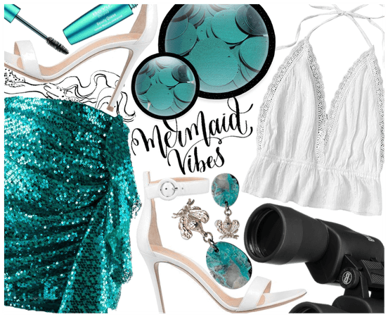 Mermaid and Sequin Vibes
