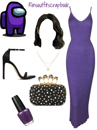 among us- purple 💜