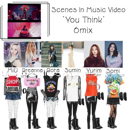 6mix - 'You Think' MV Car and Club Scene