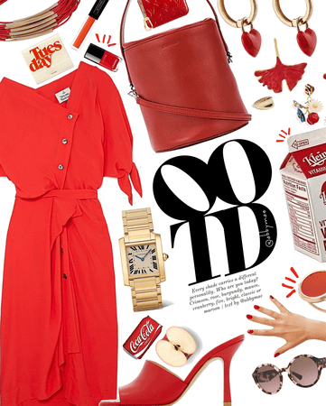 Red Tuesday | celebrate #ootd