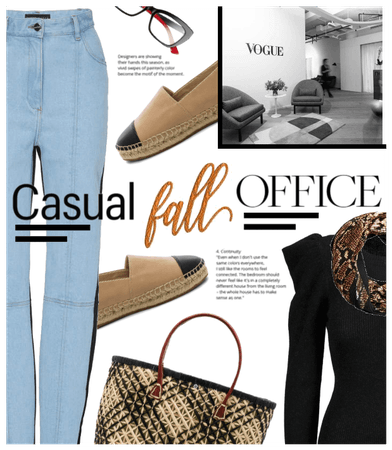 Casual Fall Office Style