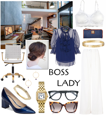 Boss Lady ft. the Coobie Lace Back Scoopneck Bra in White