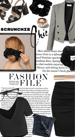 Scrunchie Chic and Sophisticated