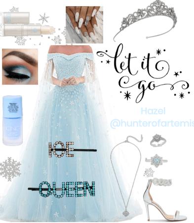 Let it Go | #elsa #frozen | Hazel @hunterofartemis