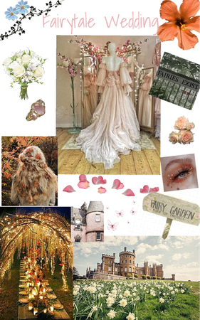 Fairytale Wedding Aesthetic