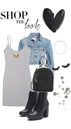 fall into Grunge Outfit
