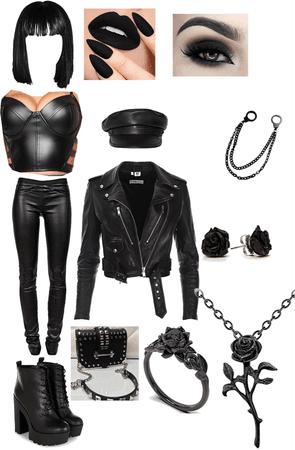 all black everything black