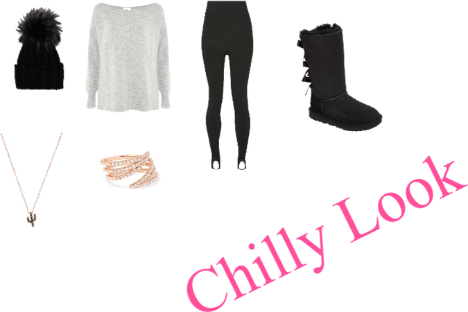 Casual Chilly Look