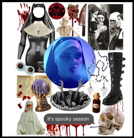 spooky nun