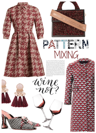 Pattern Mixing/Wine Date