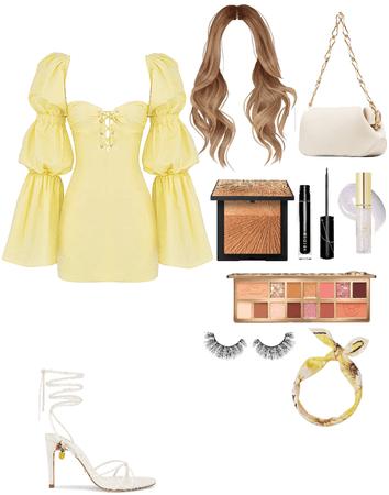 Yellow dress💛
