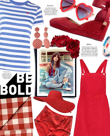 be bold | red white & blue | 4th of July