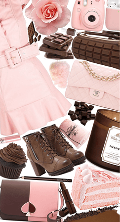 Pink+Chocolate Brown💗🤎