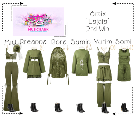 《6mix》Music Bank 'Latata'