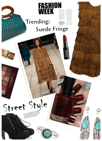 NYFW Trend: Suede fringes