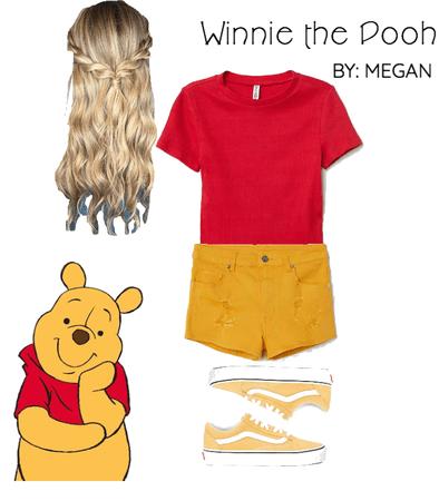 Winnie the Pooh Bear Disney Bound