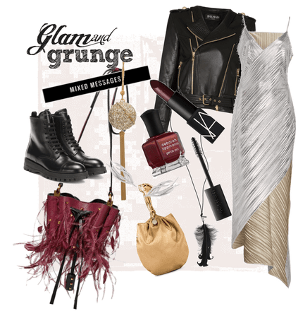 Glam & Grunge: Mixed Messages
