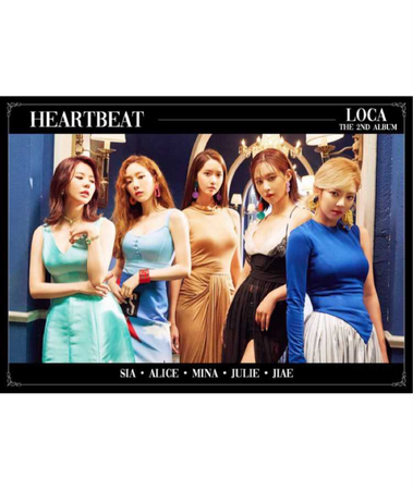 [HEARTBEAT] 'LOCA' TEASER PHOTO   LOVE VER