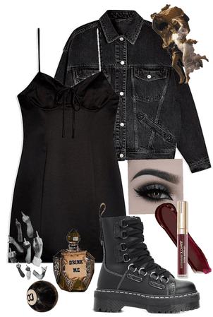 grunge black