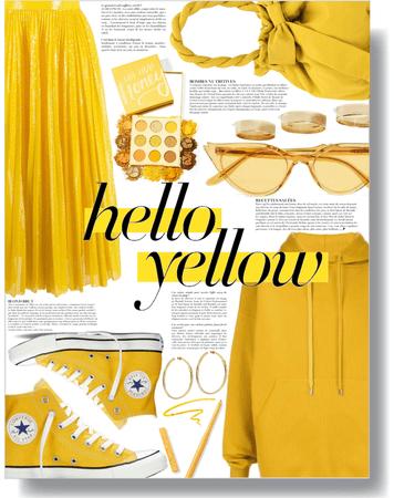 hello yellow mellow 💛