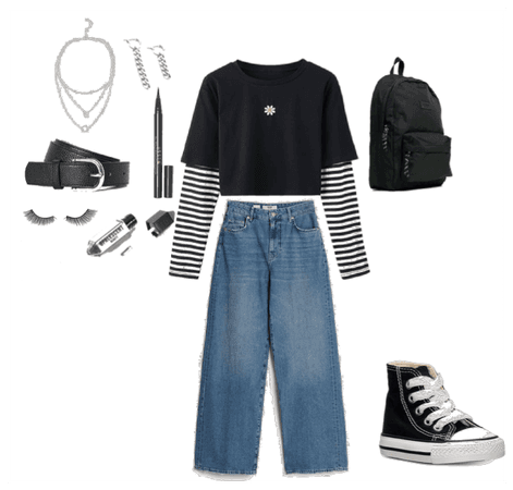 Grunge outfit idea