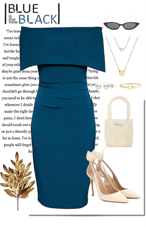BLUE IS THE NEW BLACK