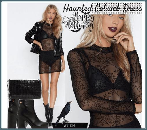 Haunted Cobweb Dress