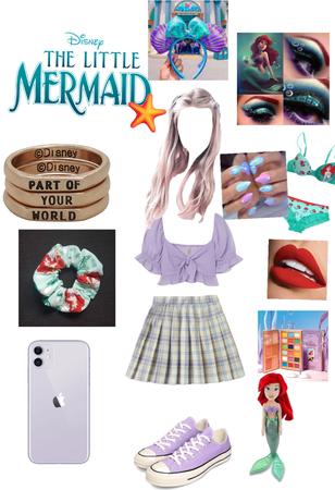 Disney bound - Ariel 🧜🏼♀️