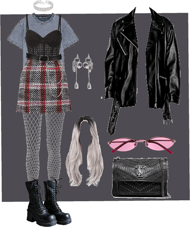 Grunge with a bit of glam