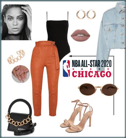 Beyonce NBA