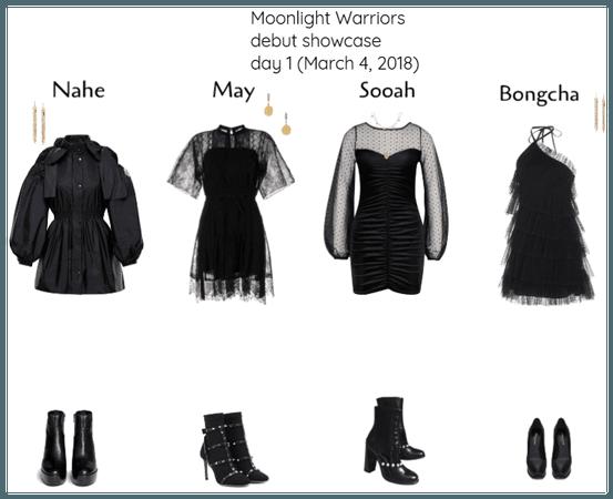 Moonlight Warriors debut showcase 1