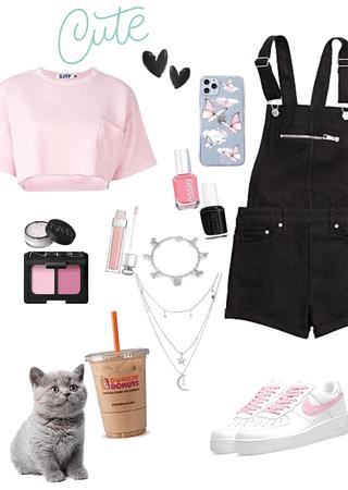 black n pink #simple