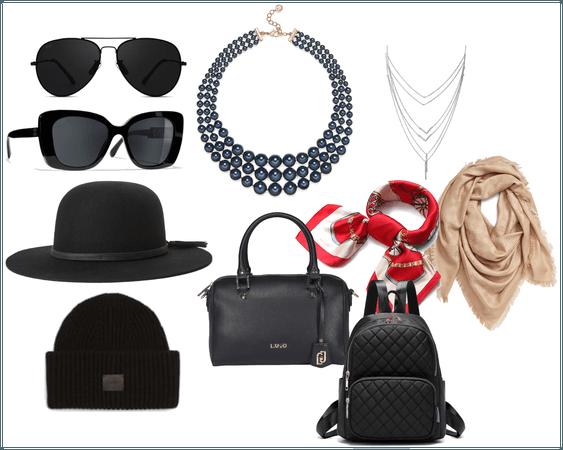 Basic wardrobe accessories