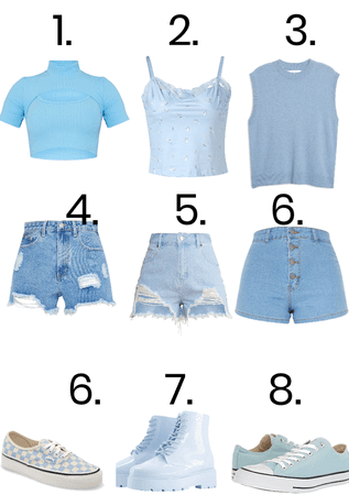 Pick Your Outfit: Blue