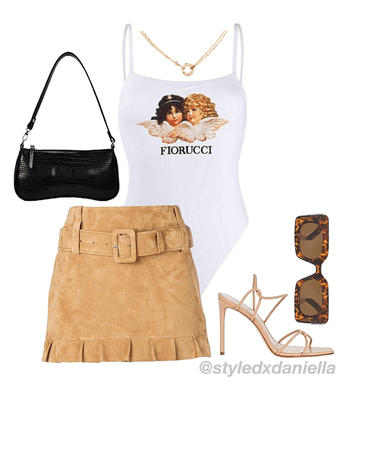 Luxurious shopping day look inspo
