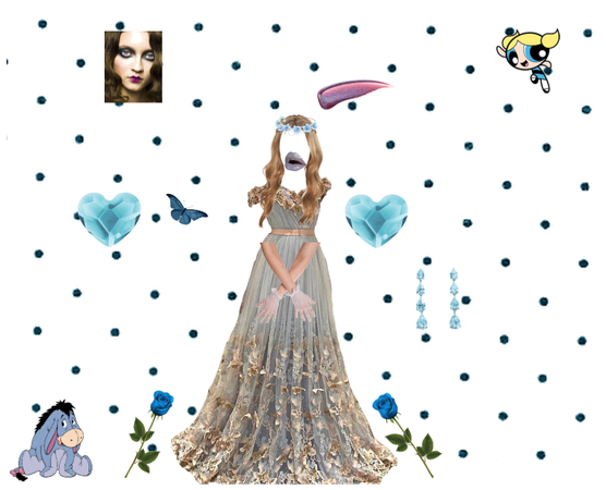 Princess Serena ( cute in blue 💙💙💎 )