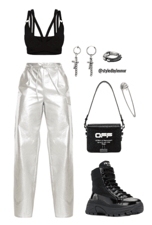 Futuristic Edgy Outfit