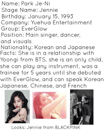 Min Yoongi girlfriend info