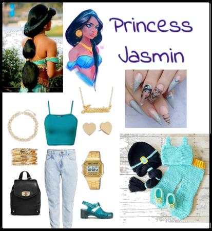 Princess Jasmine outfit