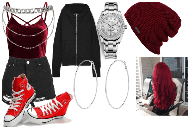 Ruby Rose survival outfit