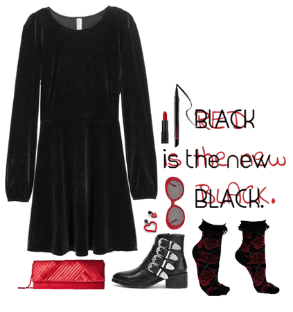 Is Red or Black the New Black?