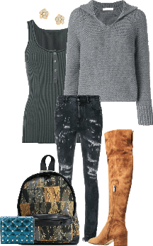 Simple/Casual look