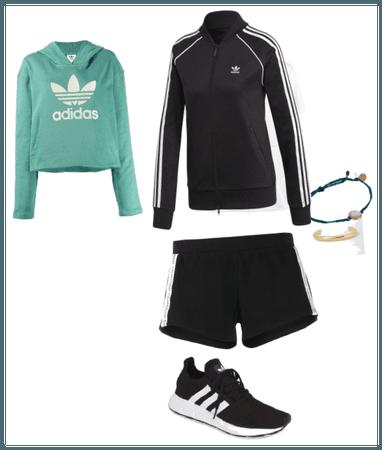 Athletic girls