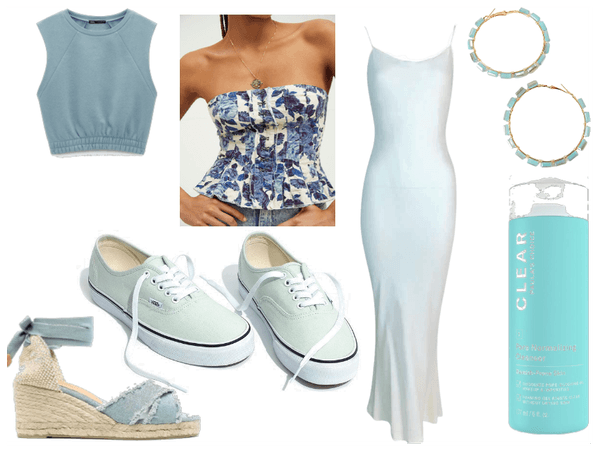 feel the vibes: light blue