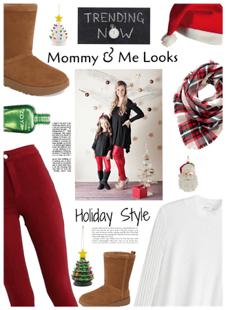 Trending now: Mommy & Me looks. Holiday Style