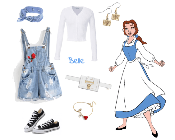 Belle outfit - Disneybounding