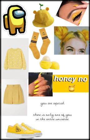 Among us yellow (female)